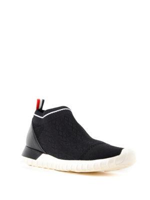 MONCLER: sneakers online - Sneaker Giroflee in jersey e pelle