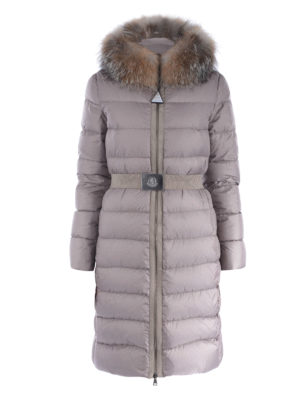 Moncler: padded coats - Fabrefox down coat