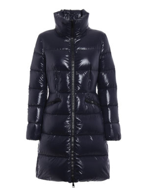 Moncler: padded coats - Jasminum dark blue down coat