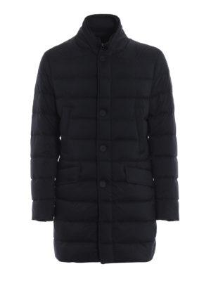 MONCLER: cappotti imbottiti - Piumino Keid in leggero nylon opaco