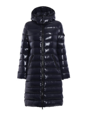 Moncler: padded coats - Moka padded long coat