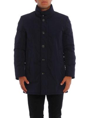 Moncler: padded coats online - Fusain padded coat
