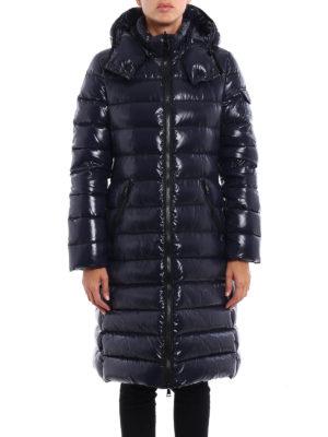 Moncler: padded coats online - Moka padded long coat