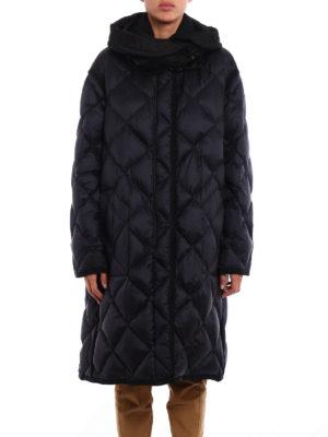 Moncler: padded coats online - Osmanthus padded coat