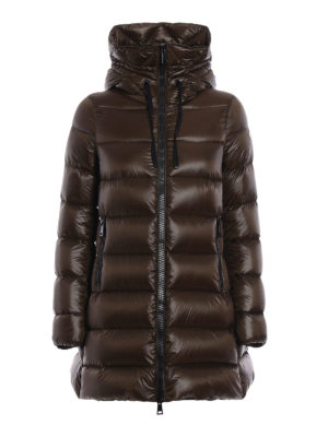 Moncler: padded coats - Suyen padded hooded coat