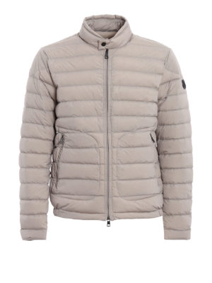 Moncler: padded jackets - Acorus stretch down jacket