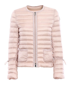 Moncler: padded jackets - Almandin bon ton light pink jacket