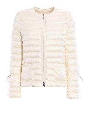 Moncler: padded jackets - Almandin bon ton white jacket