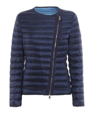 Moncler: padded jackets - Amy asymmetric fastening jacket
