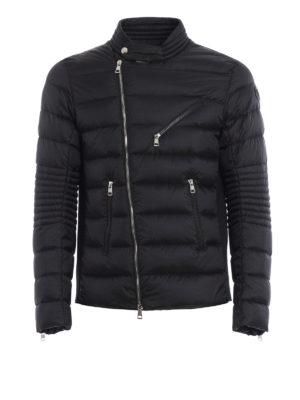 Moncler: padded jackets - Aubin asymmetric zip padded jacket