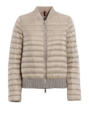 Moncler: padded jackets - Barytine down bomber jacket
