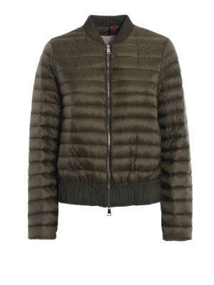 Moncler: padded jackets - Barytine puffer bomber jacket