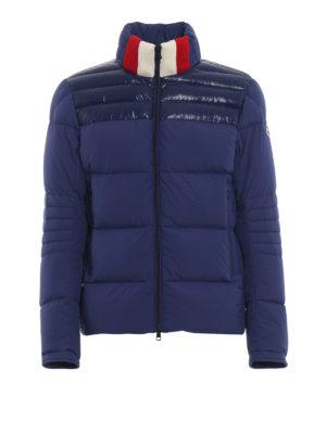 MONCLER: giacche imbottite - Piumino Bassias in stile alpino