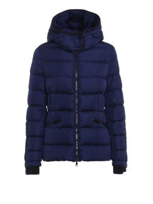 Moncler: padded jackets - Betula blue puffer hooded jacket