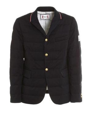 Moncler: padded jackets - Blazer style padded jacket