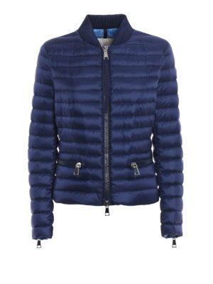 Moncler: padded jackets - Blen padded bomber jacket