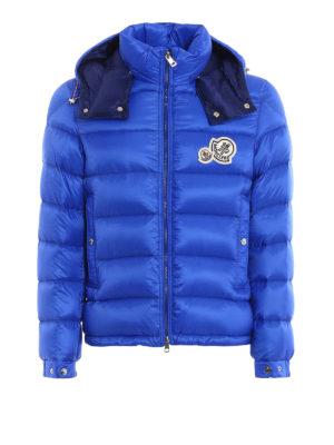 MONCLER: giacche imbottite - Piumino Bramant blu elettrico