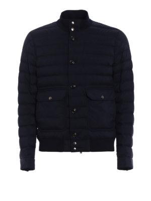 MONCLER: giacche imbottite - Piumino Chaberton blu