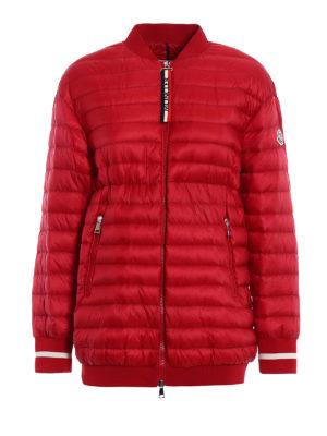 Moncler: padded jackets - Charoite padded bomber jacket