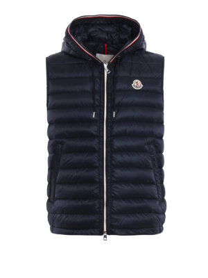 Moncler: padded jackets - Cyriaque padded sleeveless jacket