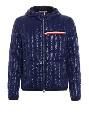 Moncler: padded jackets - Diren quilted glossy nylon jacket
