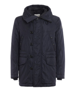 Moncler: padded jackets - Dirk hooded padded jacket