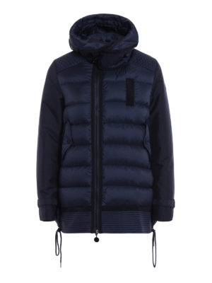 Moncler: padded jackets - Harriet hooded padded jacket