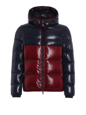 Moncler: padded jackets - Harry bicolour puffer jacket