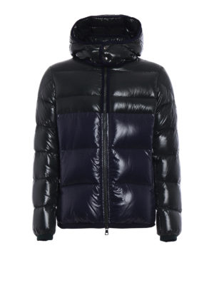 Moncler: padded jackets - Harry two-tone puffer jacket