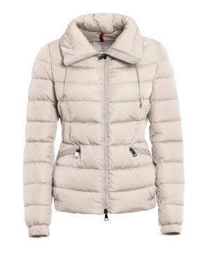 Moncler: padded jackets - Irex fitted padded nylon jacket