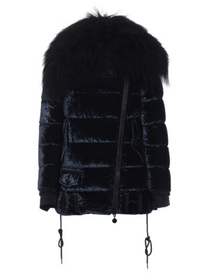 Moncler: padded jackets - Isabelle chenille down jacket