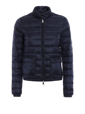 Moncler: padded jackets - Lans blue puffer jacket