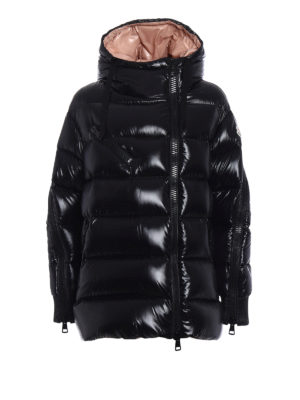 Moncler: padded jackets - Liriope hooded down jacket