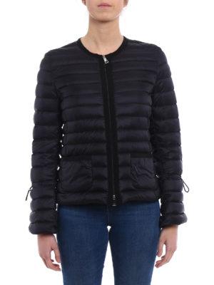 Moncler: padded jackets online - Almandin bon ton black jacket