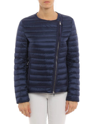 Moncler: padded jackets online - Amy asymmetric fastening jacket