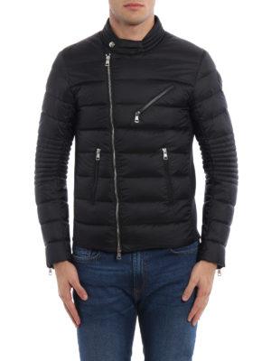 Moncler: padded jackets online - Aubin asymmetric zip padded jacket