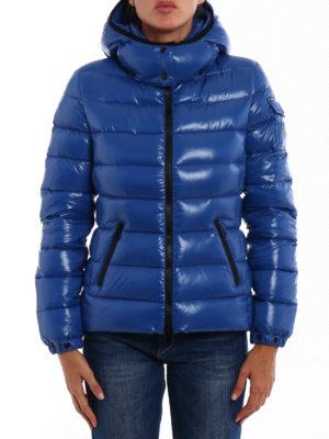Moncler: padded jackets online - Bady lacquered nylon padded jacket