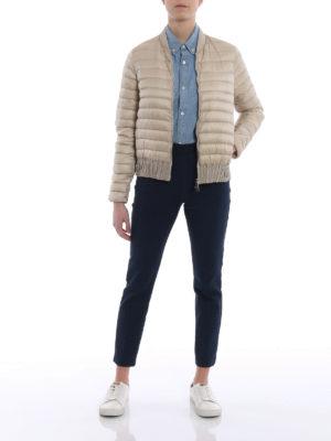 Moncler: padded jackets online - Barytine down bomber jacket