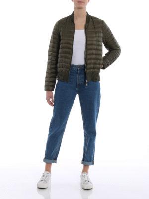 Moncler: padded jackets online - Barytine puffer bomber jacket