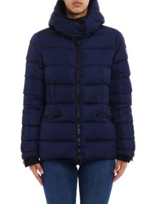 Moncler: padded jackets online - Betula blue puffer hooded jacket