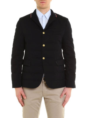 Moncler: padded jackets online - Blazer style padded jacket
