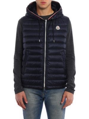 Moncler: padded jackets online - Cyriaque padded sleeveless jacket