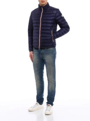 Moncler: padded jackets online - Daniel semi glossy padded jacket