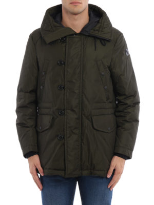 Moncler: padded jackets online - Dirk hooded padded jacket