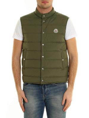 Moncler: padded jackets online - Febe sleeveless padded jacket