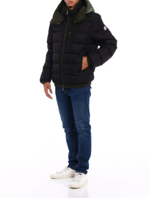 Moncler: padded jackets online - Gres black padded jacket
