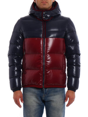 Moncler: padded jackets online - Harry bicolour puffer jacket