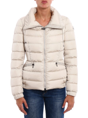 Moncler: padded jackets online - Irex fitted padded nylon jacket
