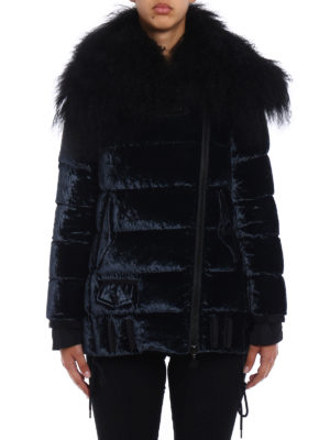 Moncler: padded jackets online - Isabelle chenille down jacket