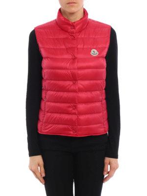 Moncler: padded jackets online - Liane sleeveless padded jacket